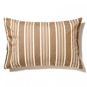 THE STRIPES Pillow Case / Stripe BEIGE